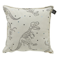 square pillow Dinos & Dots