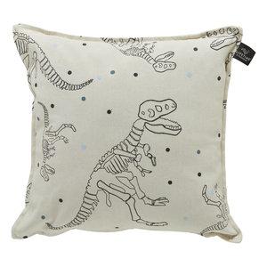 LIFETIME square pillow Dinos & Dots