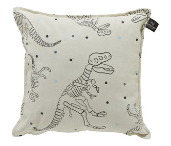 LIFETIME square pillow Dinos & Dots