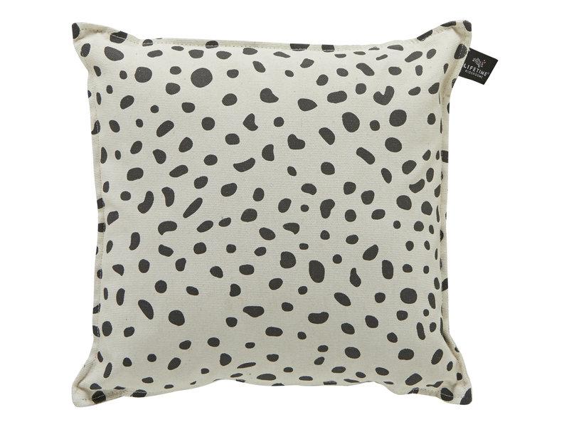LIFETIME Quadratisches Kissen Dots 45 x 45 cm