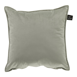 LIFETIME Square pillow Velours Soft Green