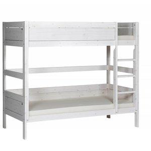 LIFETIME Bunk bed straight ladder whitewash