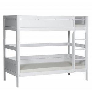 LIFETIME Bunk bed straight ladder white