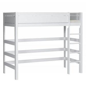 LIFETIME Loft bed straight ladder white