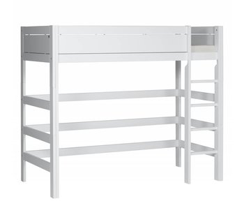 LIFETIME Loft bed straight ladder white