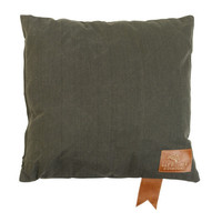Square pillow Olive