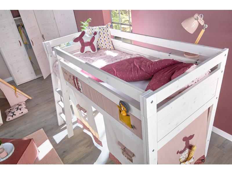 LIFETIME Bed linen Flowers 135 x 200 cm