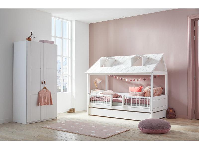 LIFETIME Teppich Soft Pink & Stars 100 x 180 cm