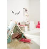 LIFETIME Square pillow Blusch Vilt 45 x 45 cm