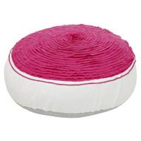 Round seat cushion Ibiza Bloom