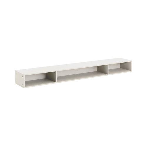 LIFETIME Storage module whitewash cabin bed