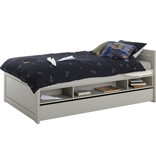 LIFETIME Cabin bed 120 x 200 cm low baseboard greywash