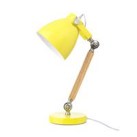 Table lamp wood yellow