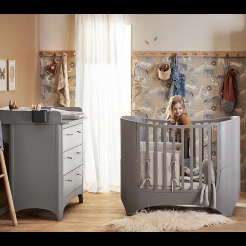 Leander Leander Baby Cot with Junior Bed Extension Kit Grey