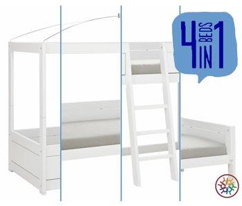 LIFETIME 4 in 1 Bett weiß