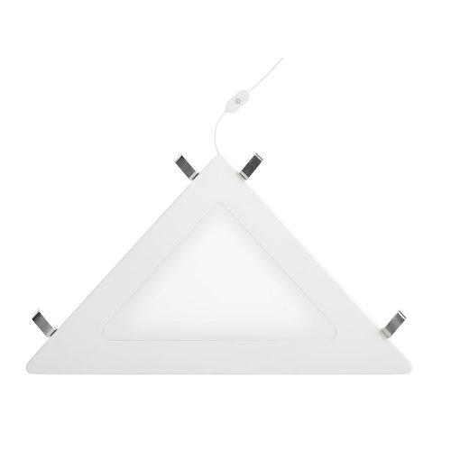 LIFETIME Corner shelf with LED light white