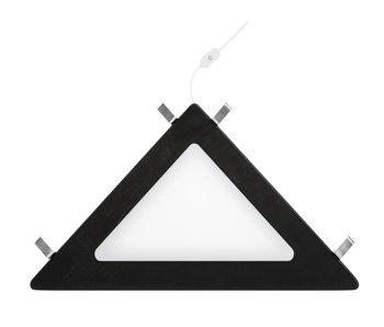 LIFETIME Corner shelf LED light black