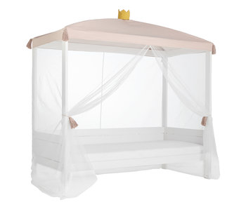 LIFETIME Bed canopy princess with crown