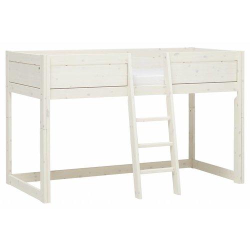 LIFETIME 4 in 1 Bett Bed canopy in whitewash