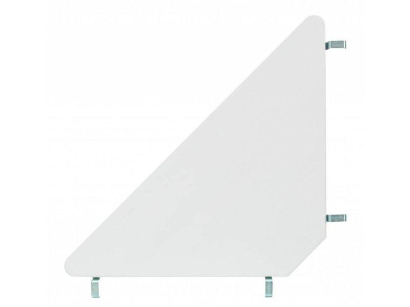 LIFETIME Mittel Hochbett 90 x 200 schräge Leiter weiß