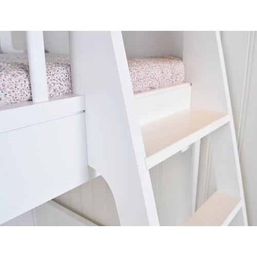 Oliver Furniture Classic loft bed white 90 x 200