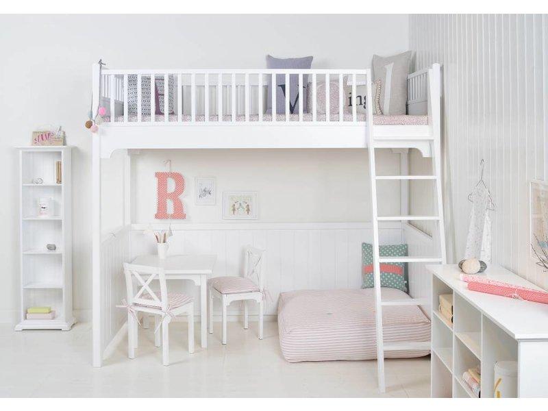Oliver Furniture Hochbett weiß 90 x 200 cm incl. Lattenrost
