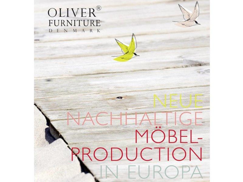 Oliver Furniture Kleiderschrank 3-tuerig weiss