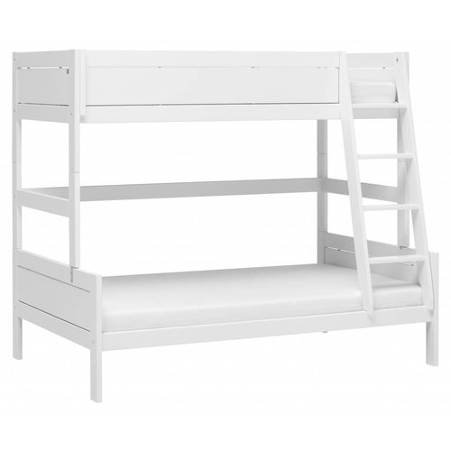 LIFETIME Bunk bed Family 90/120 x 200 in white