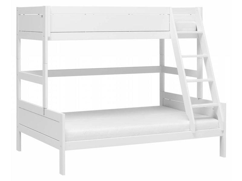 LIFETIME Etagenbett Family 90/140 x 200 in weiß