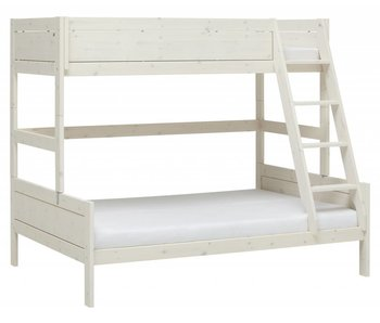 LIFETIME Bunk bed Family 90/140 x 200 whitewash