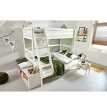 LIFETIME Bunk bed Family 90/140 x 200 in white