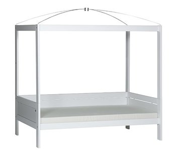 LIFETIME Four-poster bed 90 x 200 white