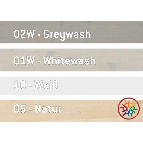 LIFETIME Hängeablage in Whitewash
