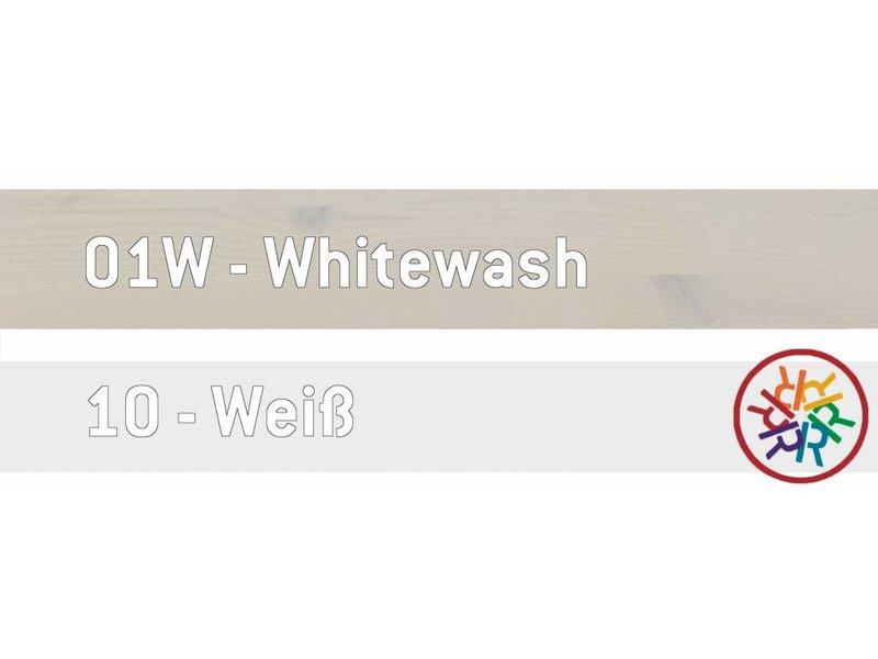 LIFETIME Kleiderhakenleiste in Whitewash