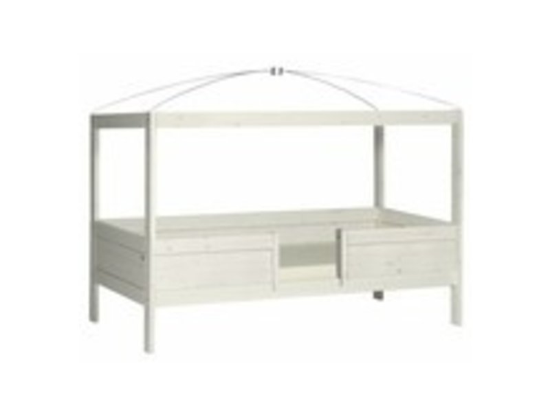 LIFETIME 4 in 1 Bed canopy in white