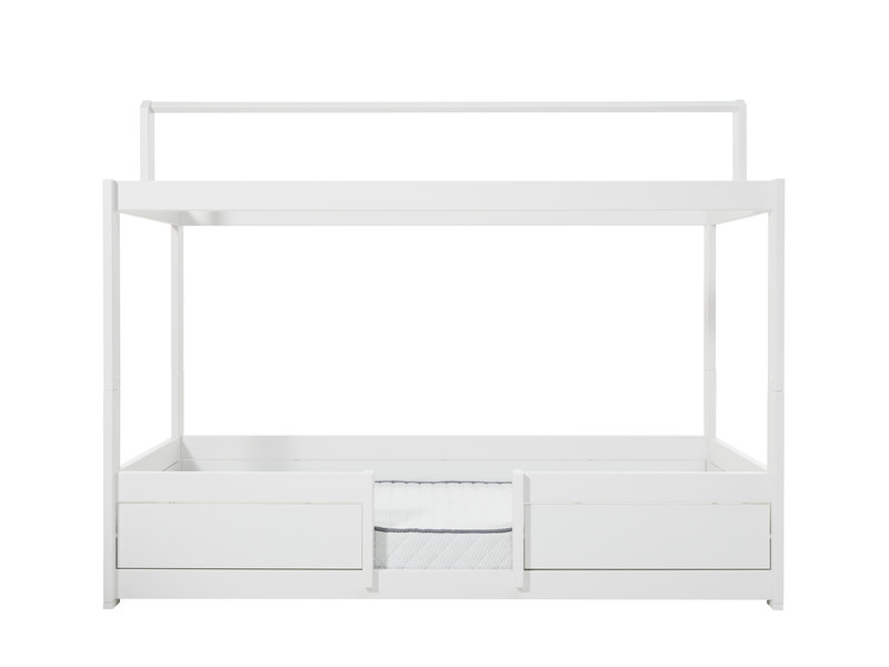 LIFETIME 4 in 1 bed for fabric roof in white