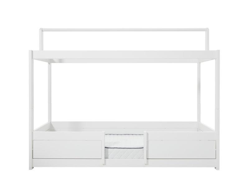 LIFETIME 4 in 1 Bett für Stoffdach in weiß
