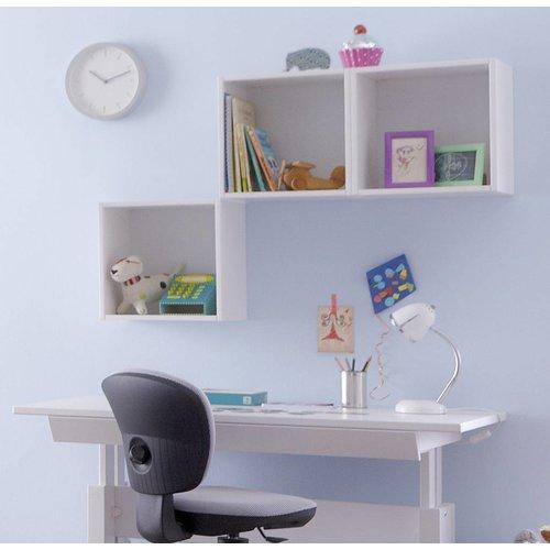 LIFETIME Kiste für Regal/Wand 37 x 37 cm, weiß