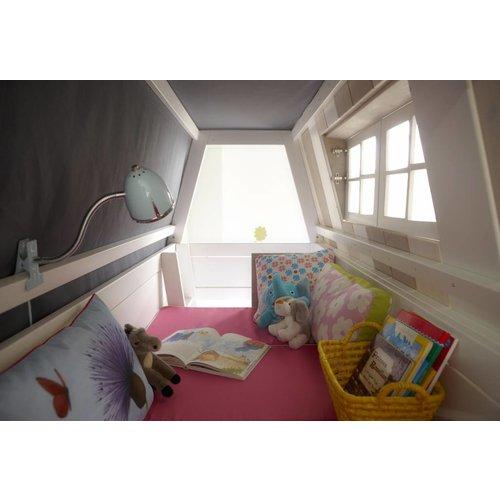 LIFETIME Hangout bunk bed in whitewash