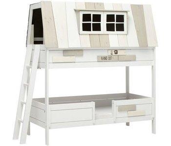 LIFETIME Hangout bunk bed white