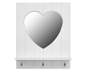 LIFETIME Spiegel Silversparkle weiß