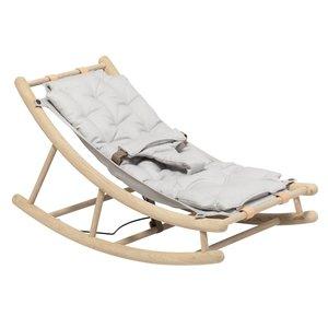 Oliver Furniture Wood Baby- und Kleinkindwippe Eiche/grau