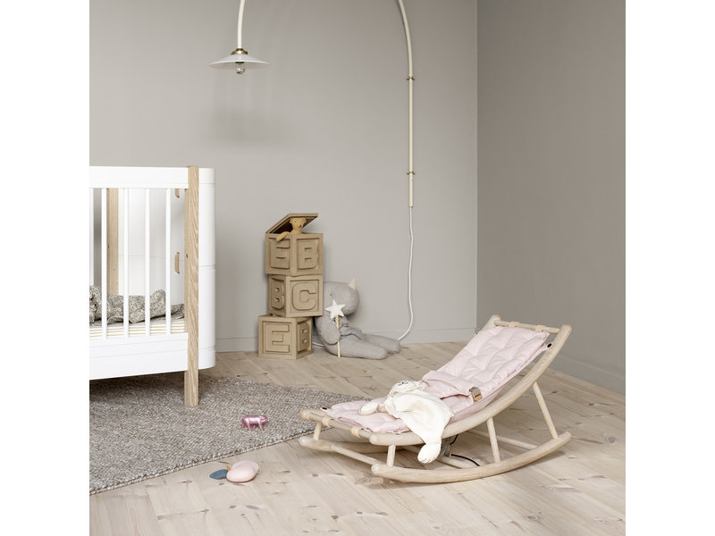 Oliver Furniture Wood baby & toddler rocker oak/rose