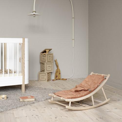 Oliver Furniture Wood baby & toddler rocker oak/caramel