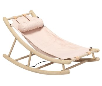 Oliver Furniture Wood toddler rocker oak/rose