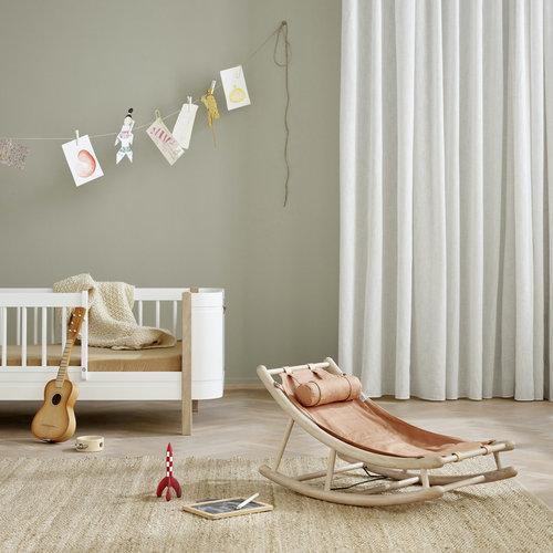 Oliver Furniture Wood toddler rocker oak/caramel