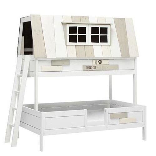 LIFETIME Bunk Bed Hangout 120 x 200 cm white