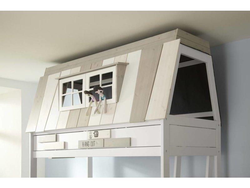 LIFETIME Bunk Bed Hangout 120 x 200 cm in whitewash