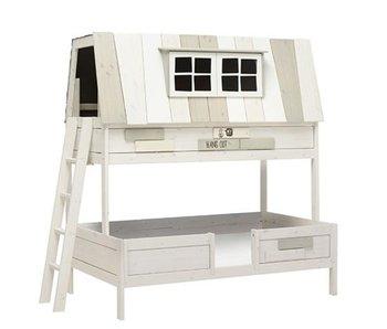 LIFETIME Bunk Bed Hangout 120 x 200 cm whitewash