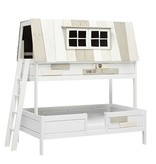 LIFETIME Bunk Bed Hangout 140 x 200 cm in white